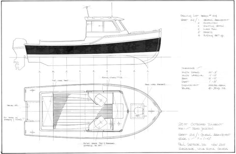 20ft Outboard Runabout, Design #214