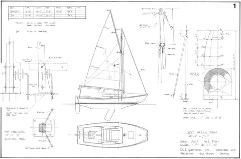 20FT Sailing Pram, Design #215