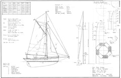 40ft Pilot Cutter, Design #217