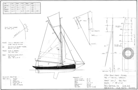 29ft Shoal Draft Cutter, Design #220