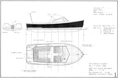 17ft Outboard Runabout, Design #221