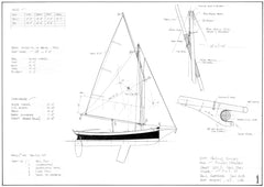 10FT Sailing Dinghy,  Design #231