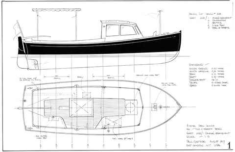 6 Metre Inboard Launch Design #228