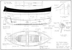 14ft Plywood Rowboat, Design #233