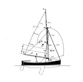 "Tomales Bay One-Design ""Jessie"", Design #113"