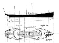 20 ft Steam Launch, Design #99