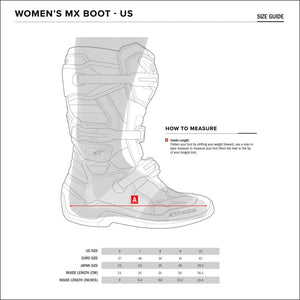ALPINESTARS WOMENS TECH 3 STELLA MX BOOTS - FOOTWEAR