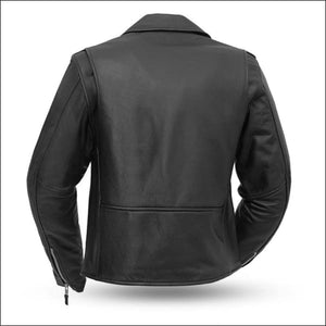 BIKERLICIOUS WOMENS LEATHER JACKET - WOMEN'S LEATHER MOTORCYCLE JACKET