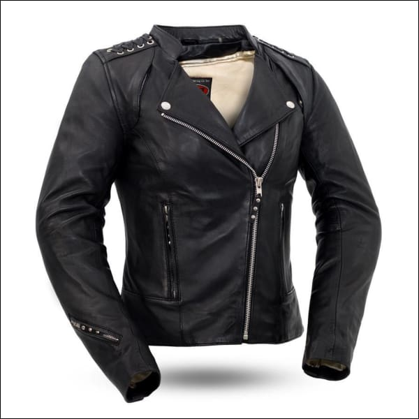 BLACK WIDOW WOMENS LEATHER JACKET - JACKET