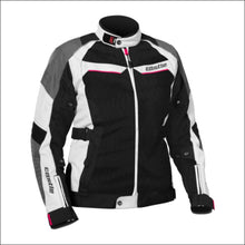 CASTLE WOMENS PASSION AIR JACKET - S / WHITE/PINK - JACKET