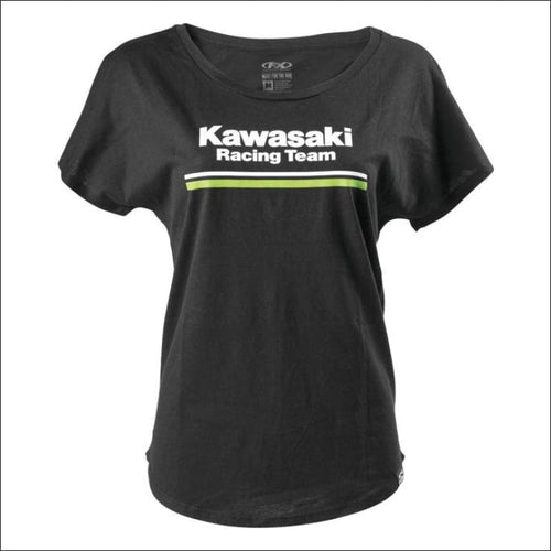 FACTORY EFFEX WOMENS KAWASAKI SMALL STRIPES TEE - TEE