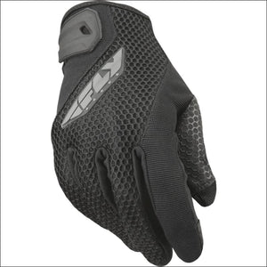 FLY RACING WOMENS COOLPRO GLOVES - 6(S) / BLACK - WOMEN'S DIRTBIKE GLOVES