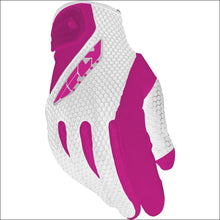 FLY RACING WOMENS COOLPRO GLOVES - 6(S) / PINK/WHITE -WOMEN'S DIRTBIKE  GLOVES