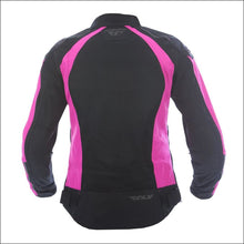 FLY RACING WOMENS COOLPRO JACKET - PINK MOTORCYCLE JACKET