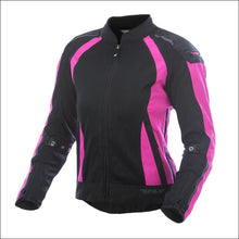 FLY RACING WOMENS COOLPRO JACKET - XS / PINK/BLACK - PINK MOTORCYCLE JACKET