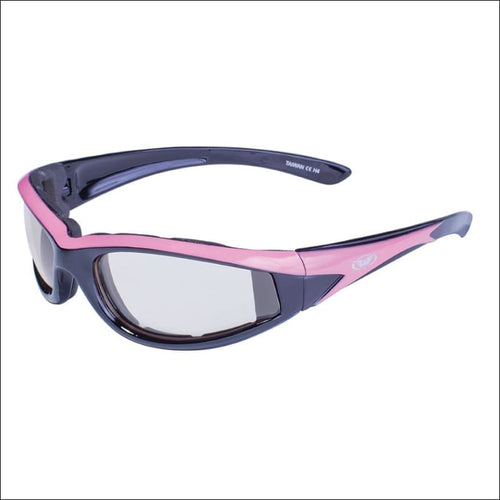HAWKEYE 24 WOMENS PHOTOCHROMATIC MOTORCYCLE RIDING GLASSES - GLASSES