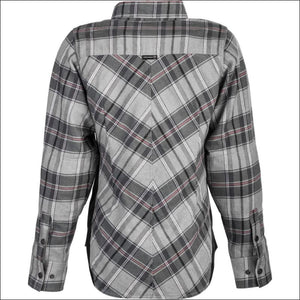 HIGHWAY 21 WOMENS ROGUE FLANNEL RIDING SHIRT - WOMEN'S MOTORCYCLE JACKET