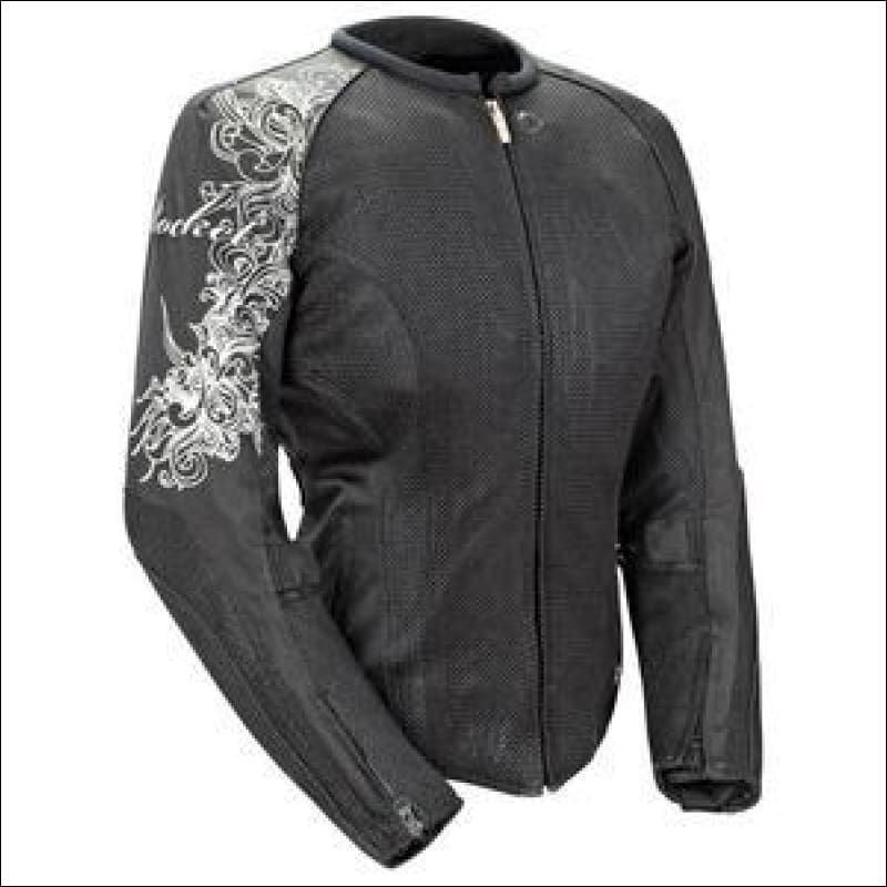 JOE ROCKET LADIES CLEO 2.2 MESH JACKET - XS / BLACK/BLACK - JACKET