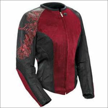 JOE ROCKET LADIES CLEO 2.2 MESH JACKET - XS / WINE/BLACK/BLACK - JACKET