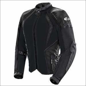 JOE ROCKET LADIES CLEO ELITE MESH JACKET - XS / BLACK - JACKET
