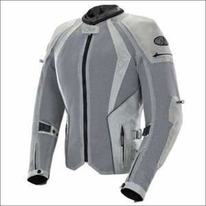 JOE ROCKET LADIES CLEO ELITE MESH JACKET - XS / SILVER - JACKET