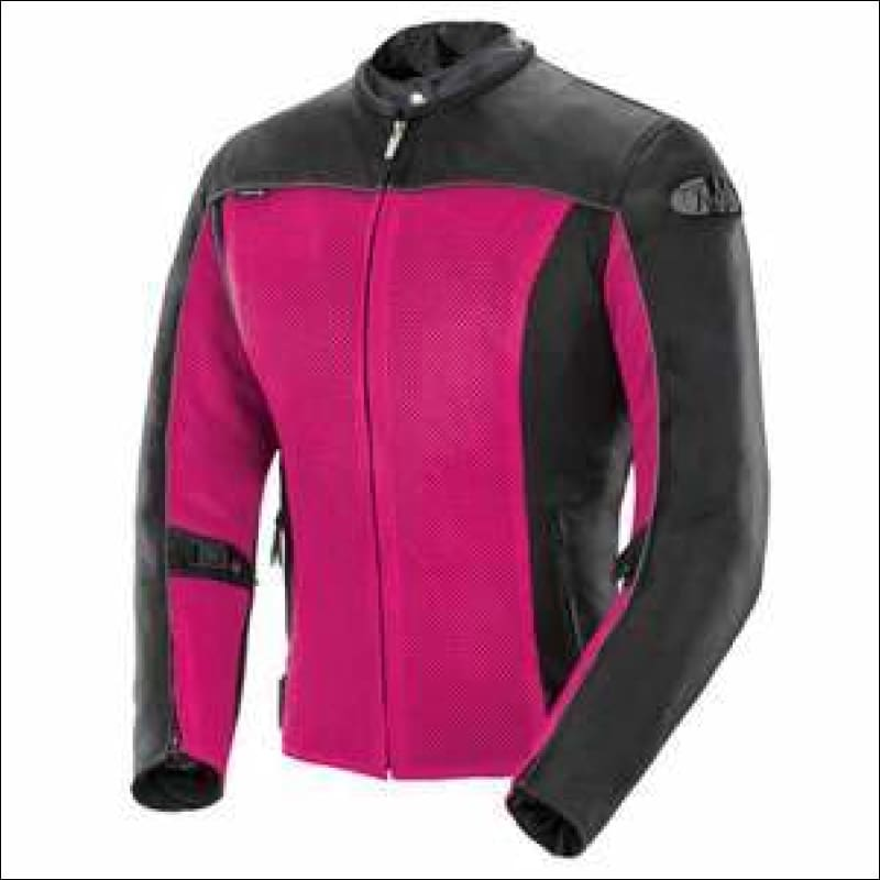 JOE ROCKET LADIES VELOCITY MESH JACKET - XS / PINK/BLACK - JACKET