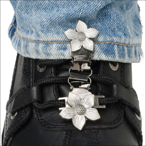 RYDER CLIPS FOR LACED BOOTS - FLOWER - FOOTWEAR