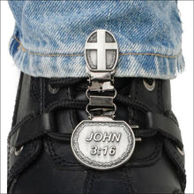 RYDER CLIPS FOR LACED BOOTS - JOHN 3:16 - FOOTWEAR