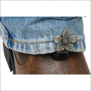 RYDER CLIPS FOR STRRUP/STRAP BOOTS - FLOWER - FOOTWEAR