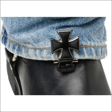 RYDER CLIPS FOR STRRUP/STRAP BOOTS - MALTESE CROSS - FOOTWEAR
