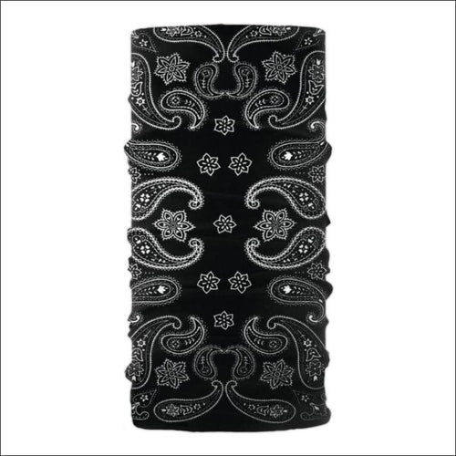 SCHAMPA TUBE - BLACK/WHITE PAISLEY
