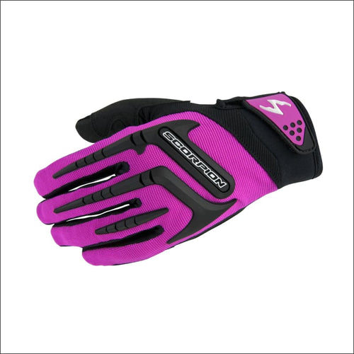 SCORPION EXO SKRUB WOMENS GLOVES - XS / PINK - Women's Motorcycle Gloves