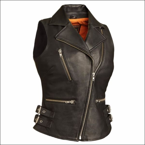 SEXY GODDESS LEATHER VEST - VEST