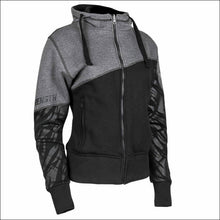 SPEED AND STRENGTH CAT OUTA HELL ARMORED HOODY - XSmall / Grey/Black - Jacket