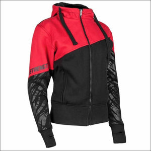 SPEED AND STRENGTH CAT OUTA HELL ARMORED HOODY - XSmall / Red/Black - Jacket