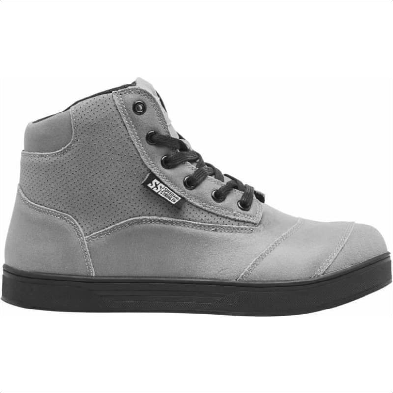 SPEED AND STRENGTH JEZEBEL MOTO SHOE - 6 / GRAY - FOOTWEAR