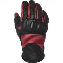 SPEED AND STRENGTH PIXIE LEATHER GLOVE - S / BLACK/BURGUNDY - GLOVES