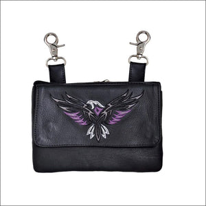 THE PURPLE PHEONIX CLIP ON BAG - CLIP ON BAGS