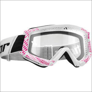 THOR COMBAT GOGGLES - CAP PINK/WHITE - GOGGLES