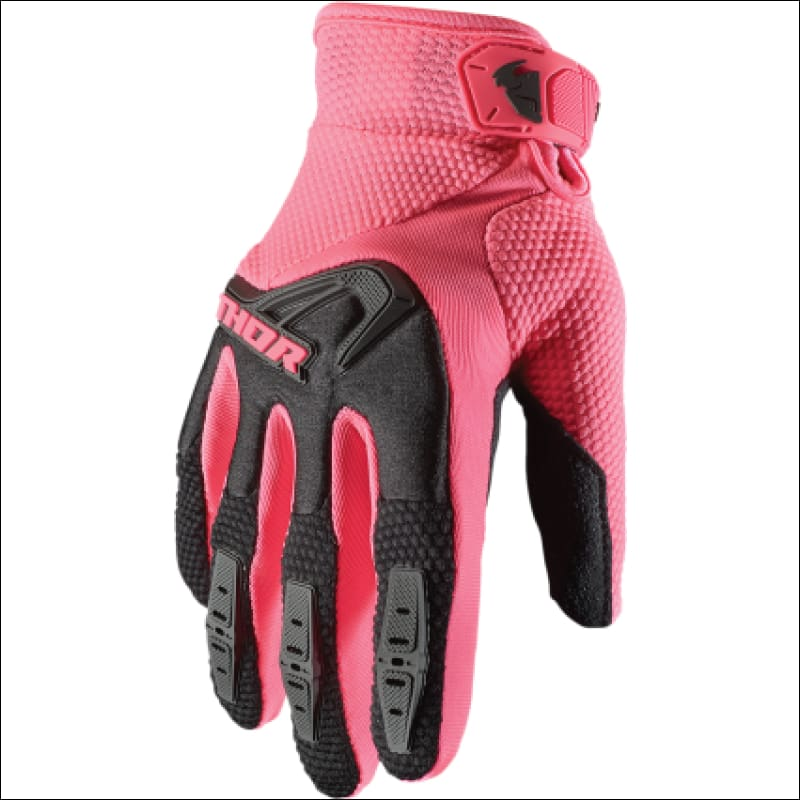 PINK DIRTBIKE GLOVES