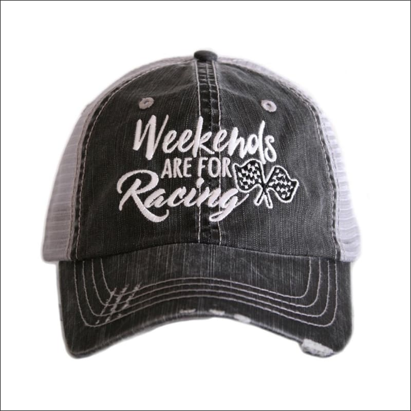 WEEKENDS ARE FOR RACING HAT - HAT