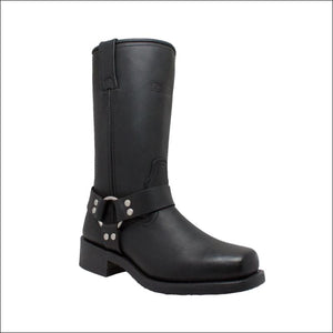 WOMENS HARNESS BLACK BOOT - FOOTWEAR