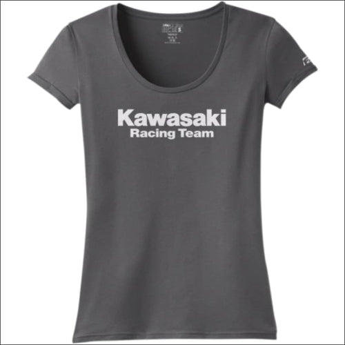 WOMEN'S KAWSAKI RACING SCOOP NECK TEE - TEE
