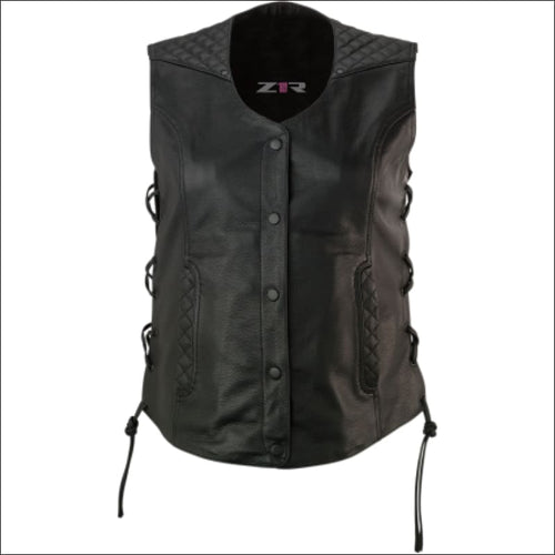 Z1R GAUCHA LEATHER VEST - JACKET