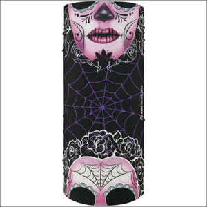 ZANHEADGEAR MOTELY TUBE SUGAR SKULL - HEADWEAR