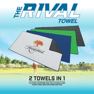 Revolutionary 2-in-1 Rival Towel