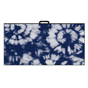 Ultimate Microfiber Towel | Navy Burst Tie Dye