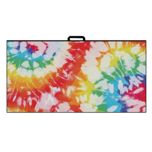 Ultimate Microfiber Towel | Rainbow Burst Tie Dye