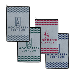 Bloom Collection Classic Woven Preset Towels - Classic Colors