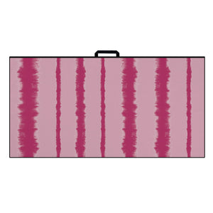 Ultimate Microfiber Towel | Pink Stripe Tie Dye